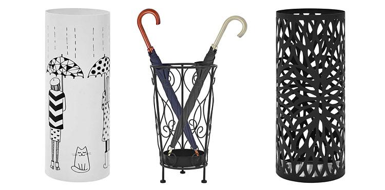 Stojak na parasol – praktyczne i stylowe uzupełnienie aranżacji holu