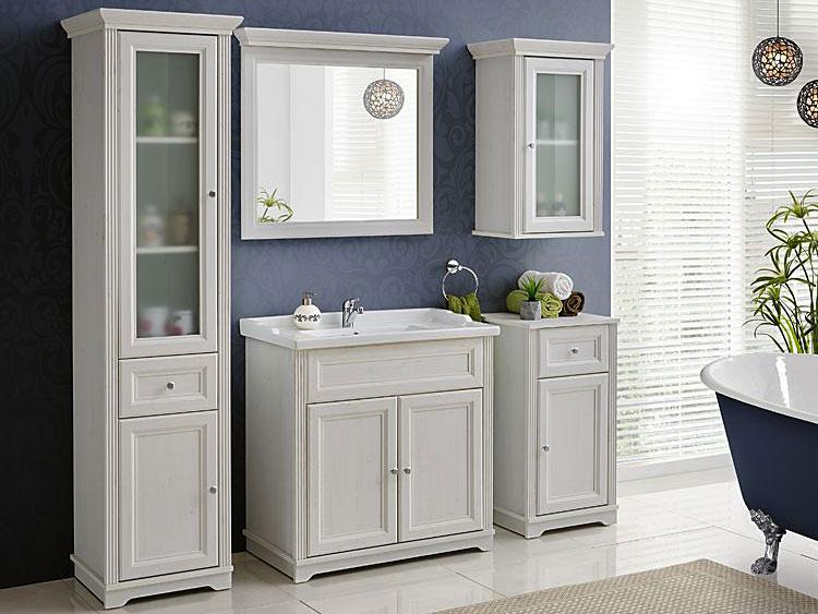 lustro łazienkowe shabby shic