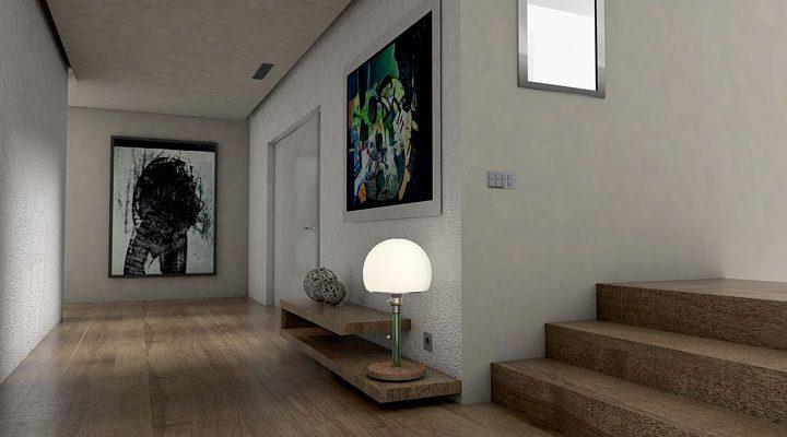 Trwałe ściany w przedpokoju – sposób na czystość i indywidualność