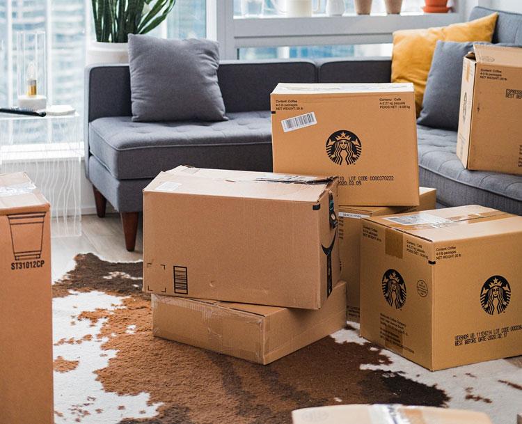 kartonowe pudełka do przechowywania