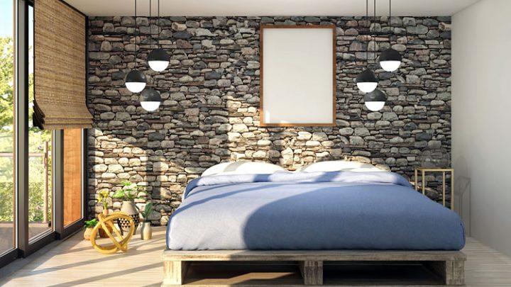 Najlepsza tapeta do małej sypialni – pomysły, inspiracje