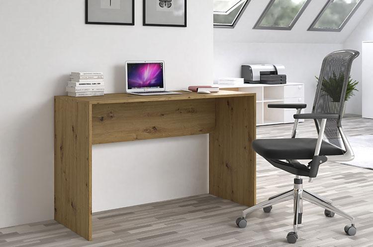klasyczne domowe biurko home office