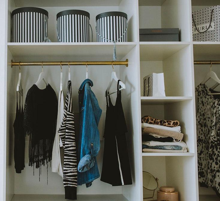 organizacja szafy wnękowej
