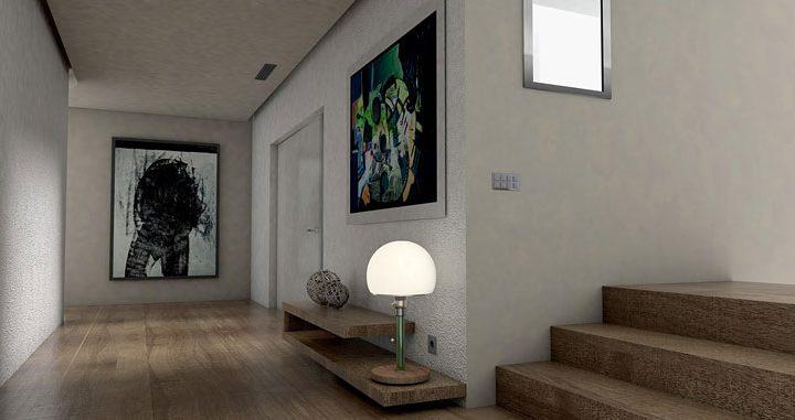 Sztuczki, które pozwolą rozjaśnić wąski korytarz lub przedpokój