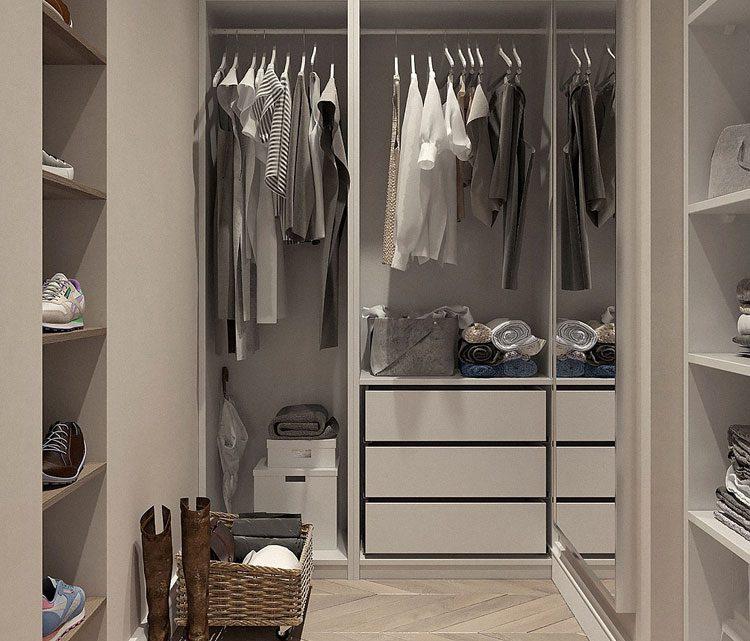 Jak zrobić i urządzić garderobę tanim kosztem