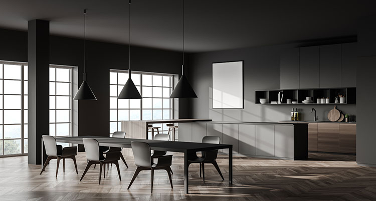 Ciemne meble w kuchni – aranżacje, na które wszyscy czekali