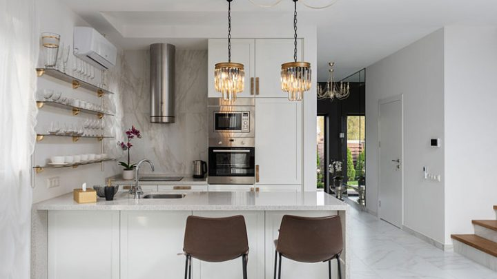 Jak urządzić kuchnię w kształcie litery L? Poznaj inspiracje i porady projektantów.